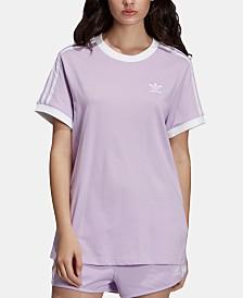 adidas Originals adicolor Cotton Three-Stripes T-Shirt