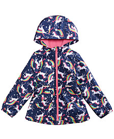 Carter's Toddler Girls Unicorns & Rainbows Hooded Jacket