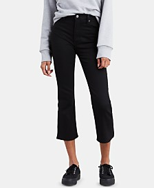 Levi's® Mile High Cropped Flared Jeans