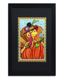 "Jennifer Nilsson Patchwork Turkey Matted Framed Art - 24"" x 32"" x 2"""