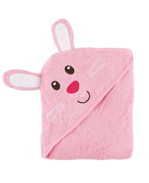 Baby Vision Luvable Friends Animal Face Hooded Towel, One Size