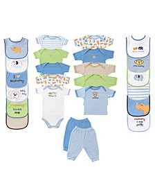 Shower Gift Cube, 24-Piece Set, 0-6 Months