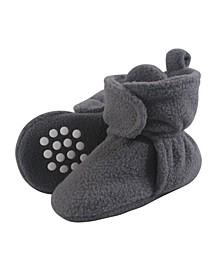 Baby Fleece Booties, 0-24 Months