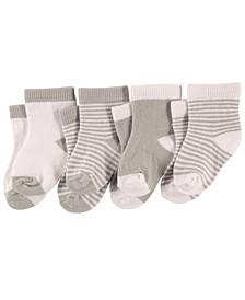 Basic Socks, 4-Pack, 0-24 Months