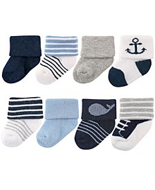 Newborn Socks, 8-Pack, 0-12 Months