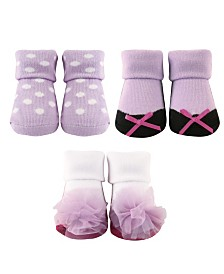 Luvable Friends Socks Gift Set, 3-Pack, 0-9 Months