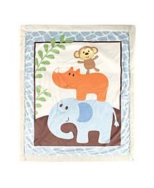 Luvable Friends Sherpa Blanket, One Size