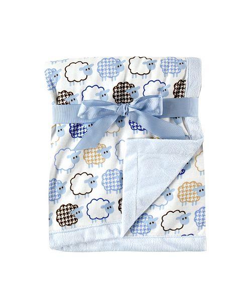 Hudson Baby Blanket with Plush Backing, One Size