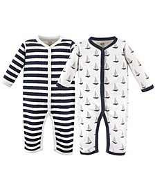 Boys and Girls Cotton Coveralls