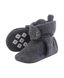 Cozy Fleece Booties with Non Skid Bottom