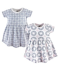 Cotton Dress, 2-Pack, 0Months-5T