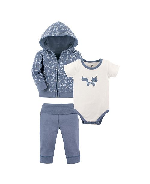 6e0f99c12eea9f ... Baby Vision Yoga Sprout Hoodie, Bodysuits and Pants, 3-Piece Set ...