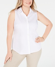 Charter Club Plus Size Top, Created for Macy's