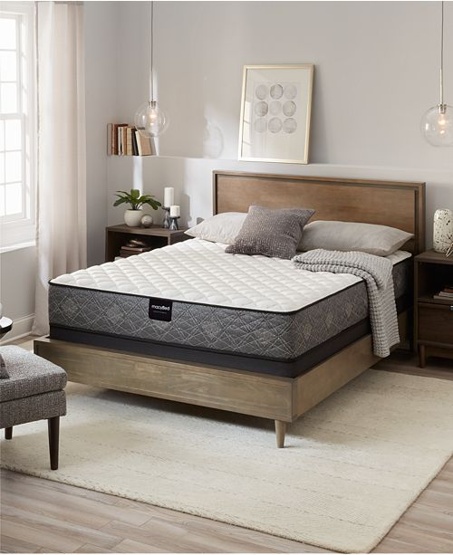 "MacyBed by Serta  Resort 10.5"" Plush Mattress -Twin, Created for Macy's"