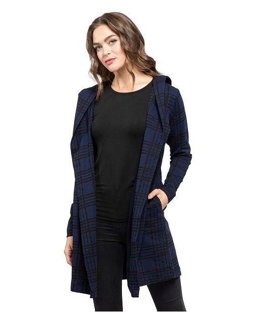 YALA Designs YALA Levity Organic Cotton and Viscose from Bamboo Hooded Jacket