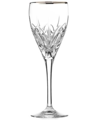 Stemware, Caprice Platinum Wine Glass