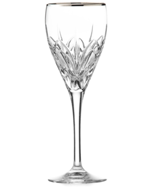 Marquis by Waterford Stemware, Caprice Platinum Wine Glass