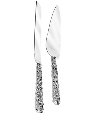 Monique Lhuillier Waterford Cake Knife And Server Sunday
