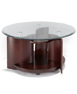 solar coffee table - furniture - macy's