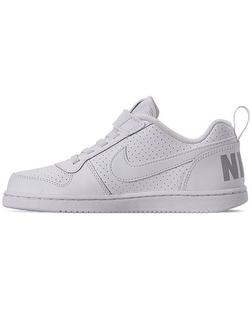acf48e9ef5cc ... Nike Little Boys  Court Borough Low Casual Sneakers from Finish Line ...