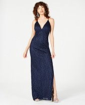 9ee57a6ca Emerald Sundae Juniors' Glitter Lace A-Line Dress