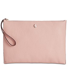 kate spade new york Polly Leather Wristlet