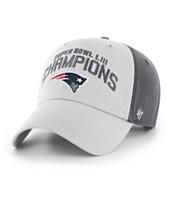 47 Brand New England Patriots Super Bowl LIII Champ Grit Clean Up  Strapback Cap f9c6dba79