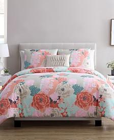 Jodi 4 Piece Full/Queen Comforter Set