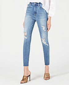 Ripped Ankle Jeans