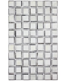 CLOSEOUT!  Cowhide HID-25 Multi 5' x 8' Area Rug