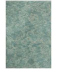 "BB Rugs Nico NIC-142 Teal 7'6"" x 9'6"" Area Rug"