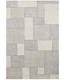 "Nico NIC-151 Ivory/Silver 2'6"" x 8' Runner Area Rug"