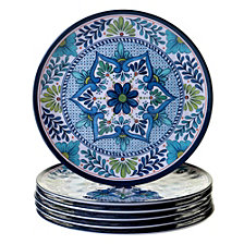 Certified International Talavera 6-Pc. Melamine Dinner Plate