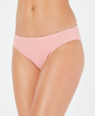 Seersucker Hipster Bikini Bottoms