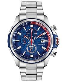 Marvel by Citizen Eco-Drive Men's Spider-Man Chronograph Bracelet Watch 44mm