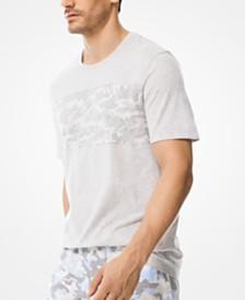 Michael Kors Men's Jacquard Camo T-Shirt
