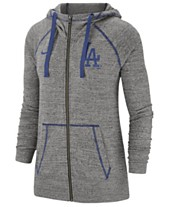 competitive price 7e11e 7f7fc Nike Women s Los Angeles Dodgers Gym Vintage Full-Zip Hooded Sweatshirt