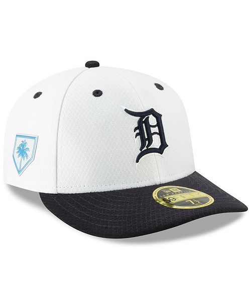 the best attitude c84bf 0eeac ... New Era Detroit Tigers Spring Training 59FIFTY-FITTED Low Profile Cap  ...
