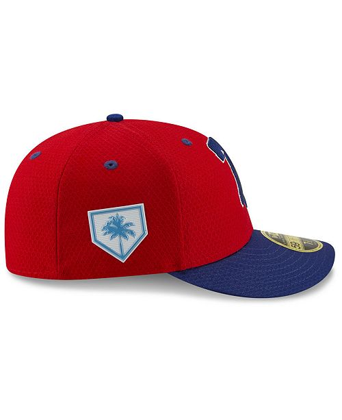 sale retailer 7878a 7460d ... New Era Philadelphia Phillies Spring Training 59FIFTY-FITTED Low  Profile Cap ...