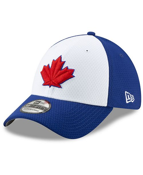 competitive price 8a536 bc27f ... New Era Toronto Blue Jays Batting Practice 39THIRTY Cap ...