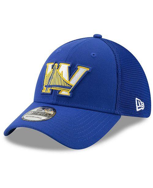 New Era Golden State Warriors Back Half 39THIRTY Cap - Sports Fan ... baebf926b5d