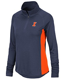 Women's Illinois Fighting Illini Albi Quarter-Zip Pullover