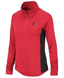 Women's Louisville Cardinals Albi Quarter-Zip Pullover
