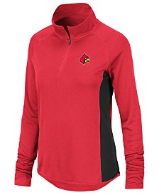 Colosseum Women's Louisville Cardinals Albi Quarter-Zip Pullover