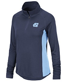 Colosseum Women's North Carolina Tar Heels Albi Quarter-Zip Pullover