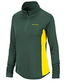 Colosseum Women's Oregon Ducks Albi Quarter-Zip Pullover