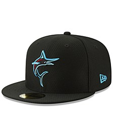 Miami Marlins Batting Practice 59FIFTY-FITTED Cap