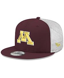 New Era Minnesota Golden Gophers TC Meshback Snapback Cap