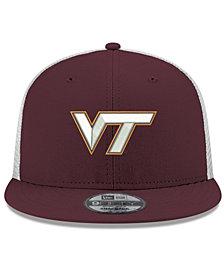New Era Virginia Tech Hokies TC Meshback Snapback Cap