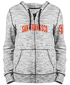 Women's San Francisco Giants Space Dye Hoodie